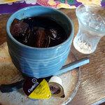 クレヨン・工房 - アイスコーヒー