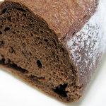 ベーカリーカフェ パン工房 ハイジ - ココアパンのハーフ\140