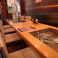 中華食堂 山形屋-テーブル席です