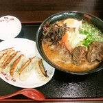 味千ラーメン - パイクー麺 と 餃子