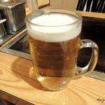 俺ん家゛ - 生ビール
