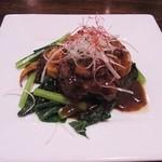 中華料理 忠実堂 - きのこと牡蠣の豆鼓炒め