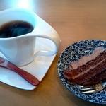 菊屋 - 食後のコーヒー(ランチに付いてくる)