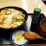 そば処 まる栄 - 広しま丼(冬季限定)