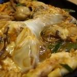 そば処 まる栄 - 広しま丼(冬季限定) アップ