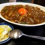 そば処 まる栄 - カレー丼