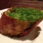 イタリア料理 ドルチェヴィータ - ガーリックトースト