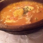 17324400 - ブイヤベーススープのおじや 1,260円
