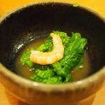 薩摩魚鮮 - お通し.JPG