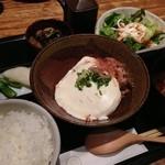 17328990 - 汲み上げ豆腐ご膳