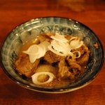 ユキガヤ食堂 - お奨め「牛すじの土手煮」
