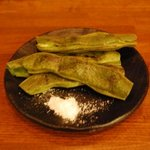 ユキガヤ食堂 - 焼きそら豆