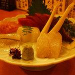 魚喜菜寿 かわ八 - お刺身盛