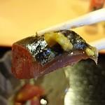 なが沼 赤坂本店 - お昼からさばの刺身とは贅沢です