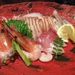 神戸創作Dining 縁 - お刺身盛り合わせ