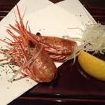 神戸創作Dining 縁 - お刺身のときの海老の頭を揚げてもらった