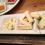 グリーンブルー - チーズ盛り合わせ