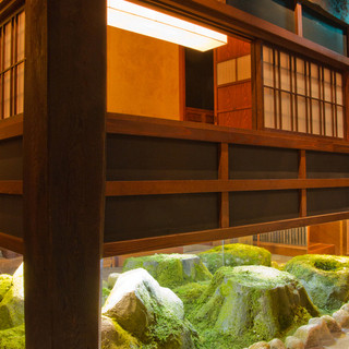 小さな和の空間。日本庭園のような大人の隠れ家へ