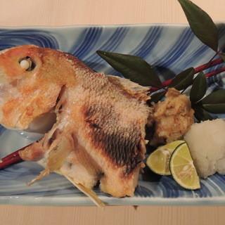 季節の魚介