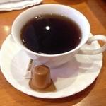 浅草カフェ ラグランドカリス - クロックムッシュ セット(480円)