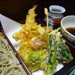 若森 - 春のおいしいおすすめ天ぷらがいっぱい!