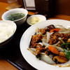 Chuugokushisenryouritempusendai - 料理写真:黒酢酢豚の定食