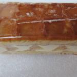 果子乃季 - ワッフルレアチーズオレンジの上面