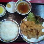 17335479 - 豚の唐揚定食