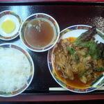 17335487 - 四川風焼肉定食