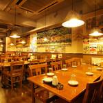 刀削麺 西安飯荘 - 内観