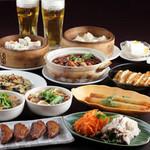 刀削麺 西安飯荘 - 料理写真:コース 一例
