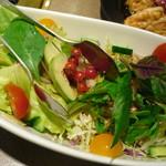 焼肉香蘭 - サラダ