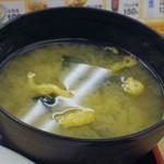 松屋 - 【ランチ】角切りステーキ定食 \690 2012年2月