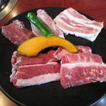 奥田 - 2013.02.15 焼肉定食のお肉