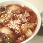杏花村 - 牛肉角煮麺 2013.2