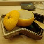 鮨 生粋 - 鱈の白子の柚子釜