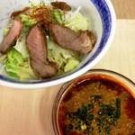17338748 -  『広島つけ麺 並 (980円)』 つけ汁は5辛