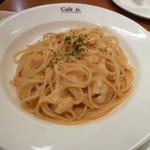 イタリアントマトカフェジュニア - モッツァレラチーズのトマトクリーム