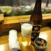 魚がし寿司 - 料理写真:中瓶ビール577円