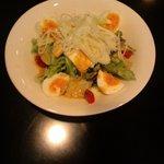 きみとしろみ - ごまドレ豆腐の卵サラダ