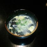 きみとしろみ - 海苔のかき玉汁