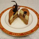 パティスリー タダシ ヤナギ - チョコレートのムース