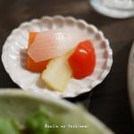 cafe wasugazen  - ピクルス