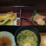 17342848 - 松花堂ランチ・和彩美御膳 上の段
