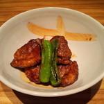 17343563 - 合鴨の黒胡椒焼き