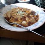 チャイニーズキッチン味彩 - 麻婆豆腐セットの麻婆豆腐