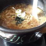 チャイニーズキッチン味彩 - 麻婆豆腐セットの半ラーメン