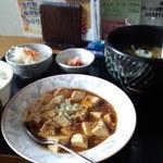 チャイニーズキッチン味彩 - 麻婆豆腐セット