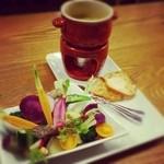サユ - 農園野菜と無臭ニンニクのバーニャカウダ