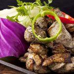 黒木屋 宮崎清武加納 - 地頭鶏もも炭火焼きは朝獲れ新鮮のプリプリです♪